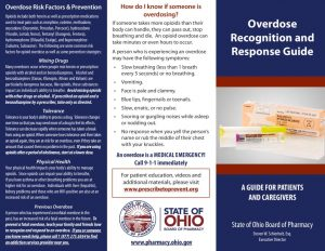 Naloxone Patient Counseling Brochure